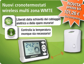 Kit WMTE Cronotermostato Wireless